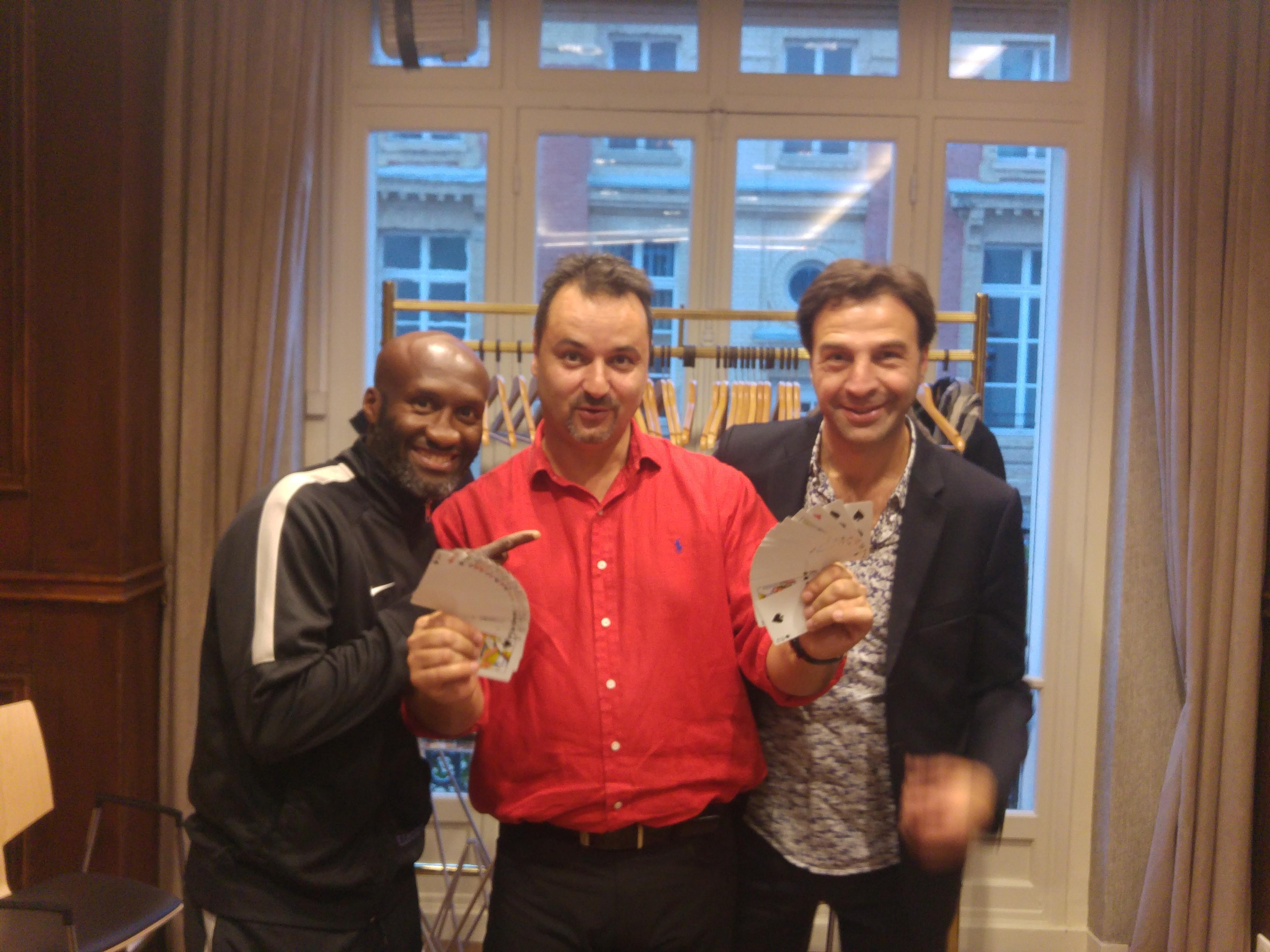 Souleyman M Baye & Franck NICOTRA