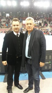 Final Four à Rouen Kindarena avec Claude Onesta