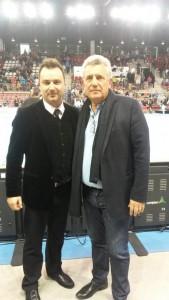 Final Four à Rouen Kindarena avec  Claude Onesta